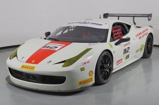 2012 Ferrari 458 Challenge Evo Challenge